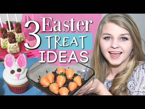 3 Quick & Easy Easter Treats DIY | Easter Dessert Recipes | Krafts By Katelyn