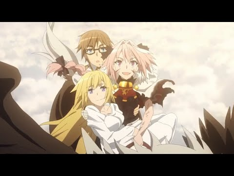 Sieg Turns into a Dragon - Fate Apocrypha Episode 25