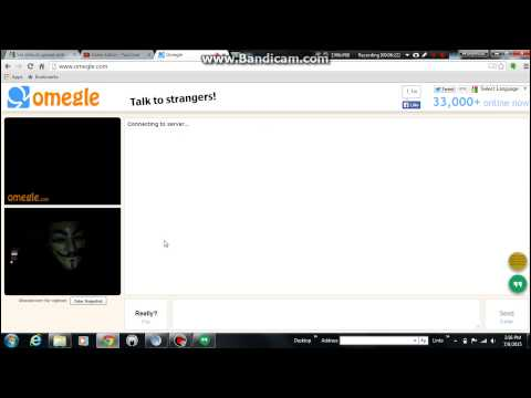 Omegle Reactions to Anonymous #2