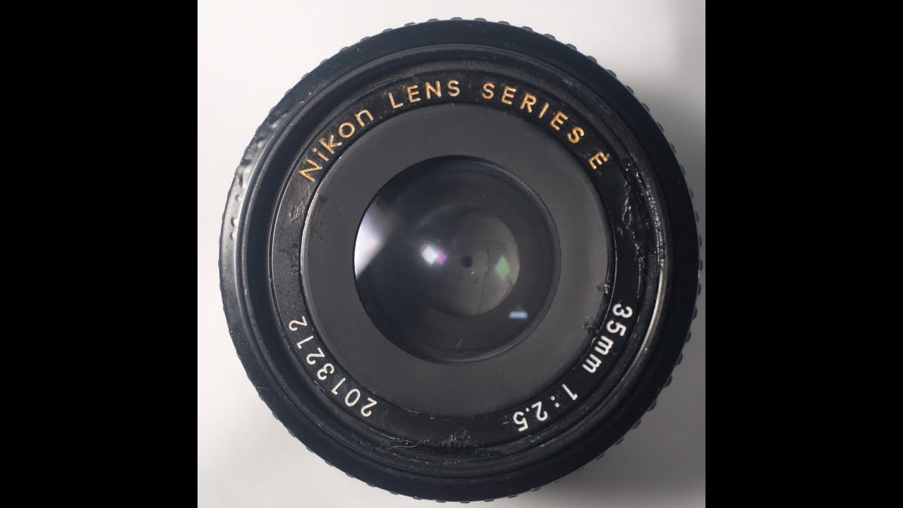 35MM F 2.5 Series E Lens for Nikon,NIKKOR,New