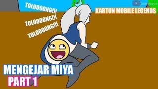 PART1 - Miya, GOKIL!! ML einer Mythischen Sache - Miya-di JAHR bagian 1 | Kartun Indonesien Lucu Banget