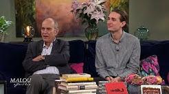 Rafael Donner: Om att ha en kändis till far och jobba med honom - Malou Efter tio (TV4)