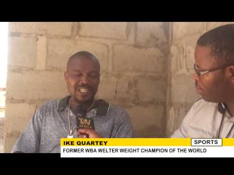 IKE QUARTEY TO COMPLETE HOSPITAL PROJECT