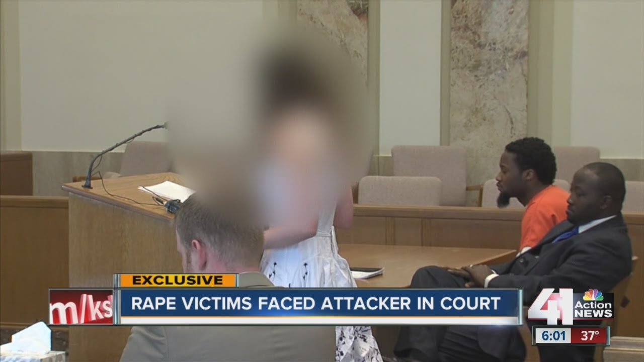 Rape victims face attacker in court