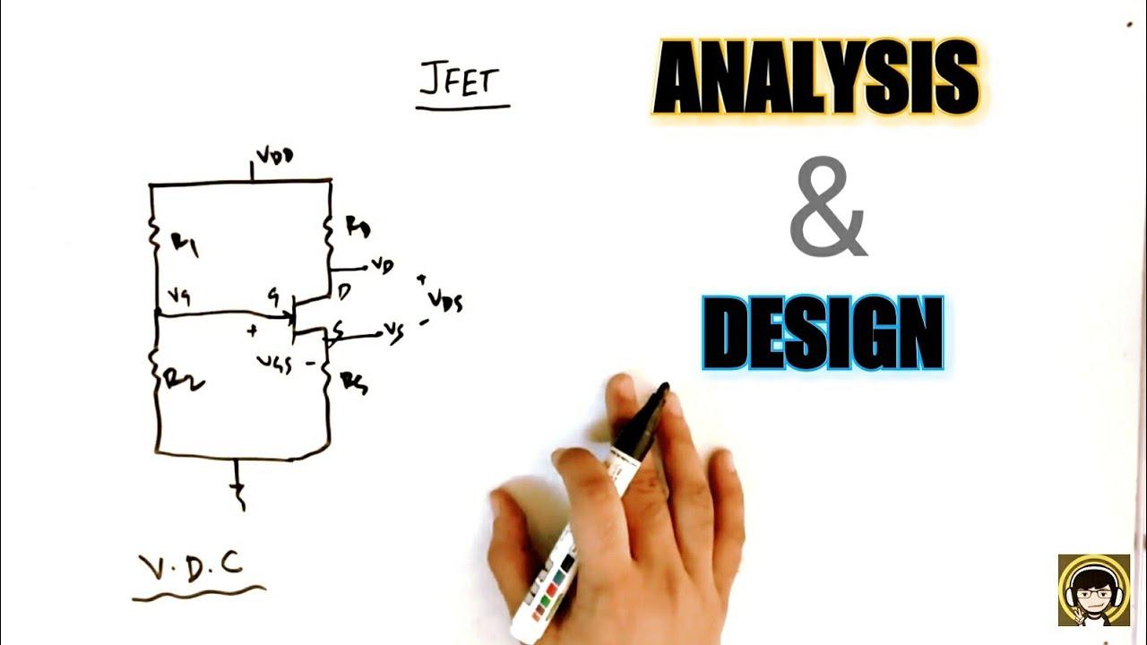 Jfet Voltage Divider Bias Circuit Analysis Calculations Design Example