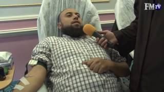 Yasin Ahmedoğlu Hoca Kan Bağışında Bulunuyor