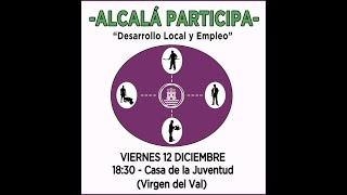 2014.12.12. Alcalá Participa #3 - Desarrollo Económico y Empleo