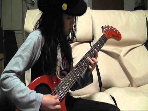 Sunshine Of Your Love Guitar solo(2m03s) is difficult for 10yo girl!! - YouTube