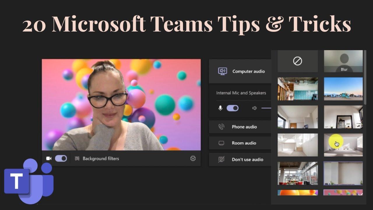 20 Microsoft Teams Tips & Tricks