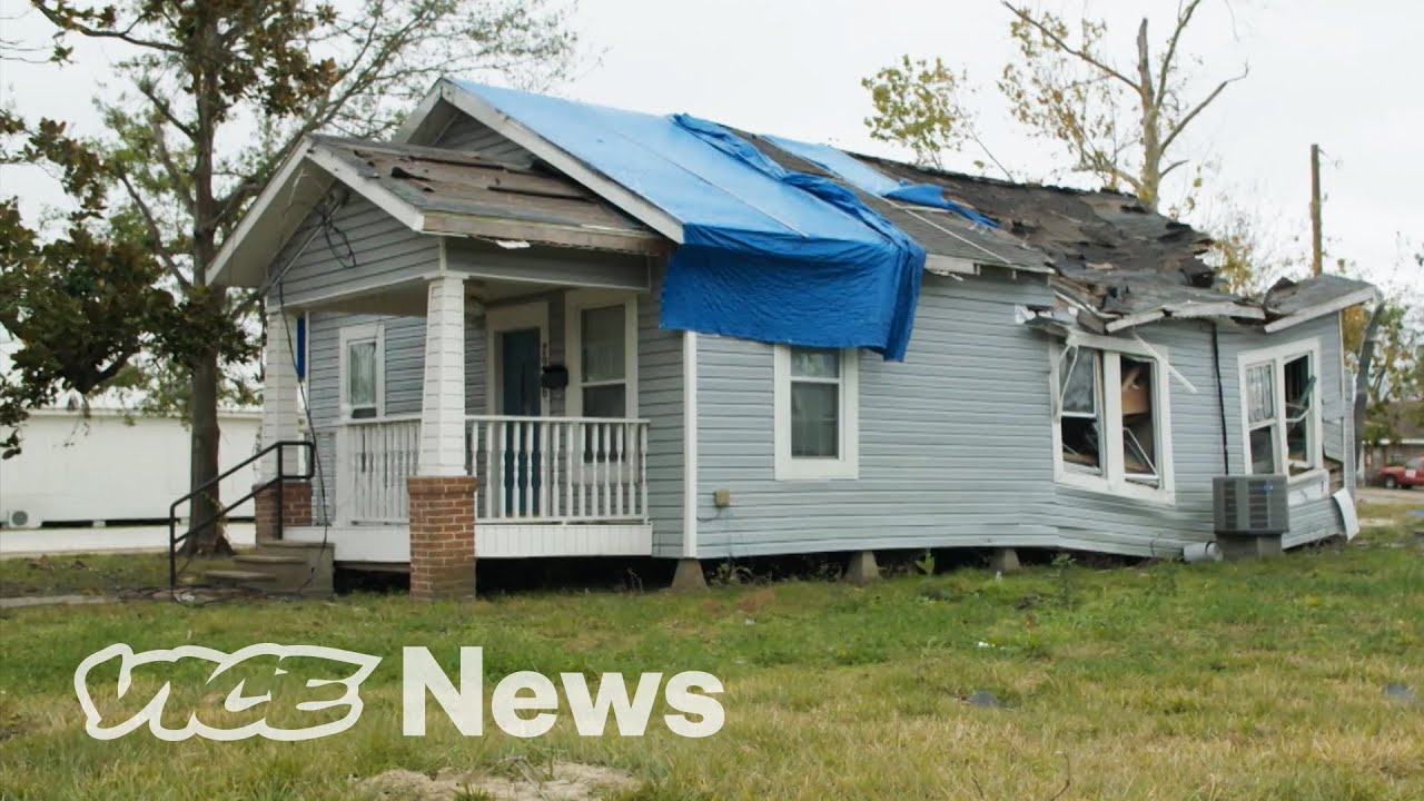 The Louisiana Town Ravaged By Two Hurricanes [usa]