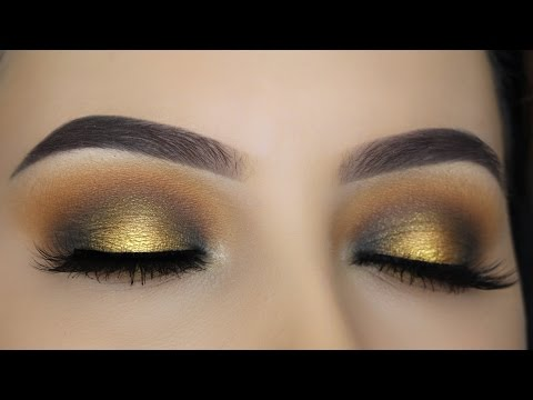 Copper Gold Halo Eye Makeup Tutorial