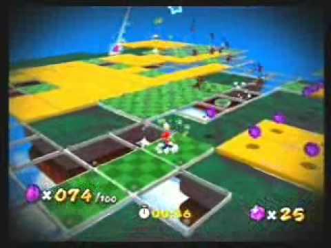Pixel Mario Galaxie Kapitel 2 Das Lila Münzen Luigi Mosaik Youtube