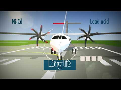 Fly Financially Smart  Saft Aviation Ni-Cd batteries