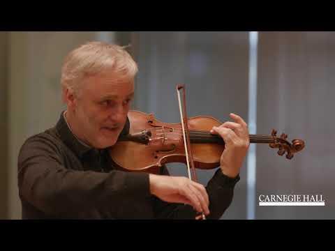 Violin Master Class with Rainer Honeck: Lalo's Symphonie Espagnole