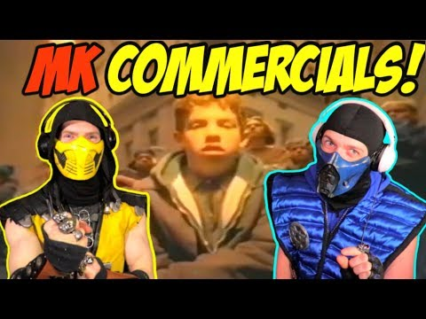 Scorpion & Sub-Zero REACT - ALL MORTAL KOMBAT COMMERCIALS (MK1-MKX AD COMPILATION) | REACTION PARODY thumbnail