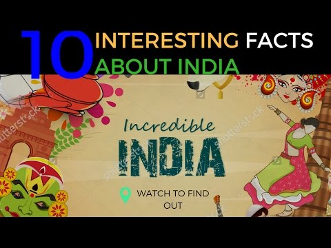 india 10 less known facts  Animated watch to find out#interesting facts about india