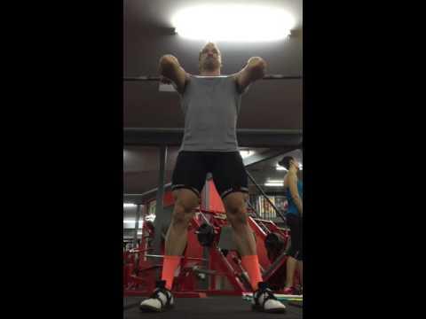Wide-Stance Deep Front Squat