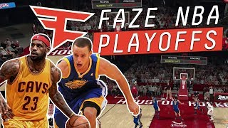 FaZe House Play NBA 2K