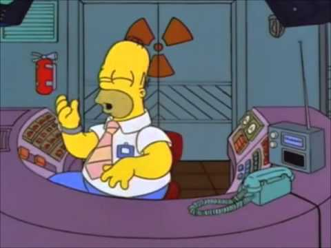 Homer Simpson sings Two Tickets To Paradise