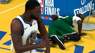 NBA 2K20 Tacko Fall My Career - Draymond Flagrant Foul on Tacko!