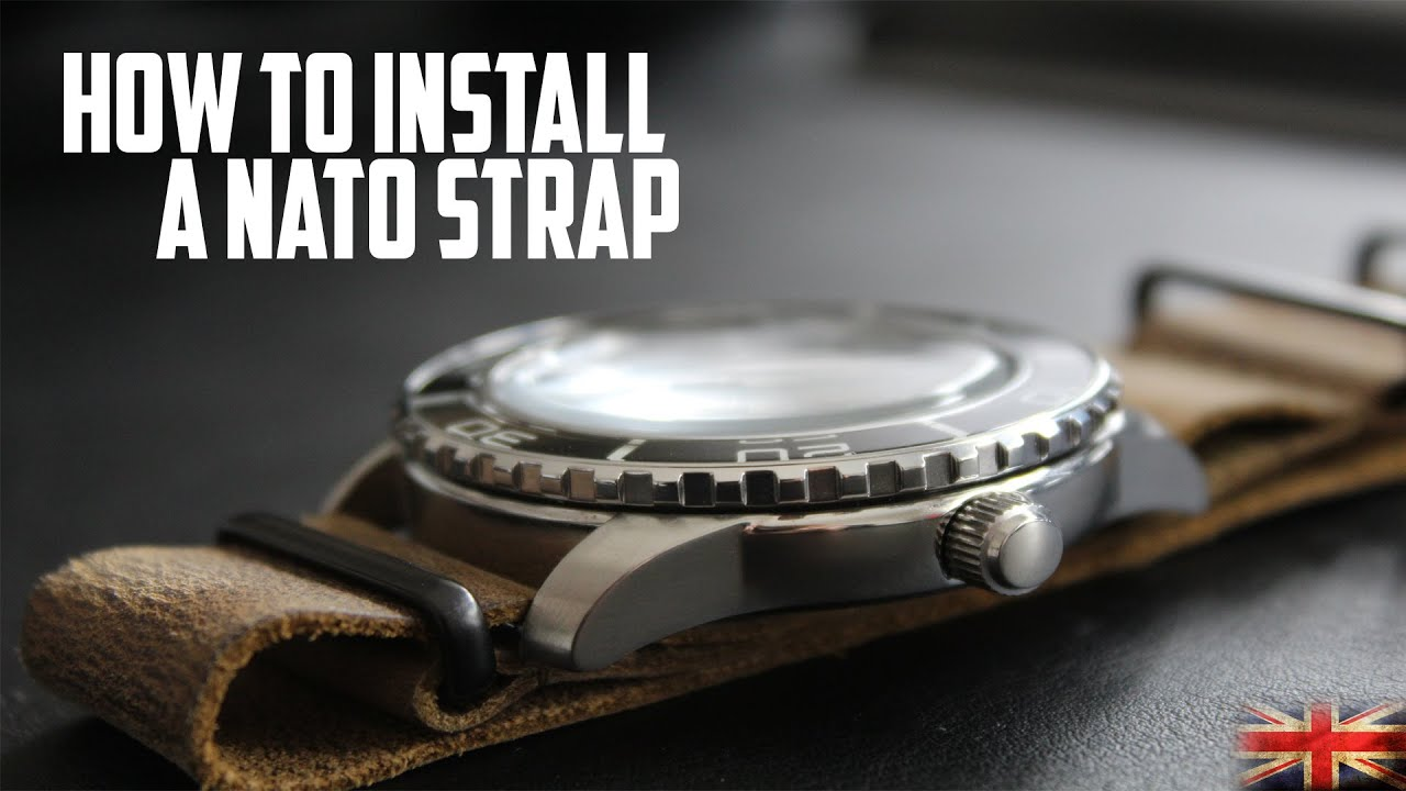 How To Install A Nato Strap