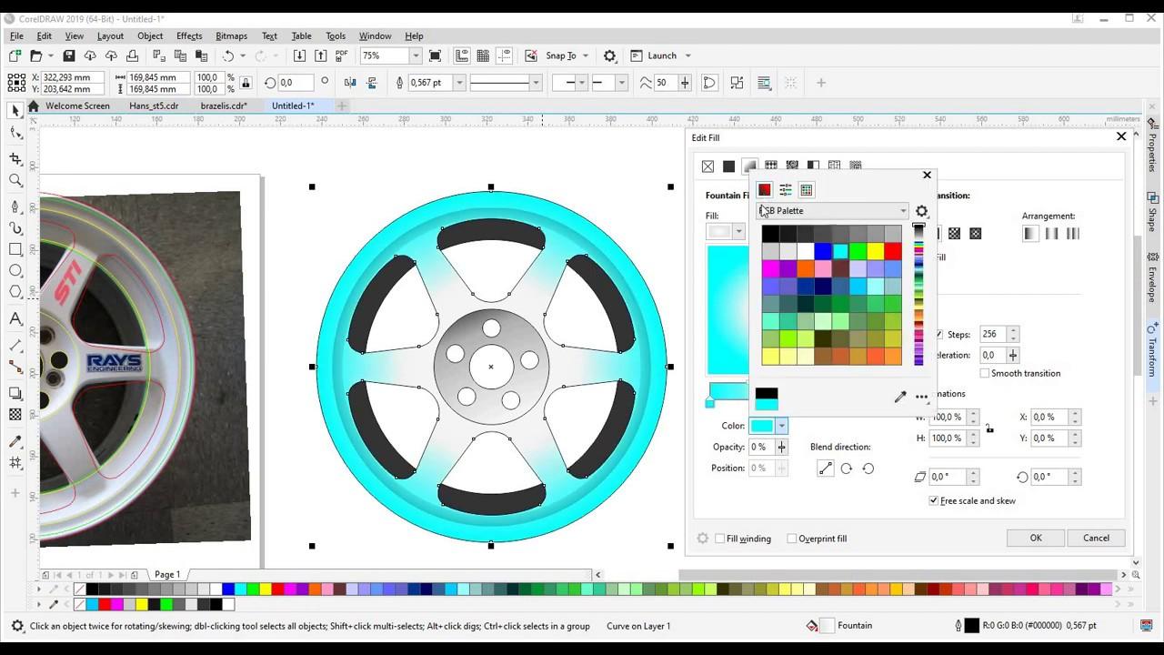 how do i create a vector file
