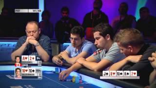 Покер. ЕПТ 10 Барселона. Турнир суперхайроллеров. Часть 1 (2013)