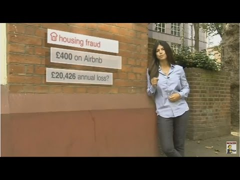 AirBnB is 'enabling' large scale fraud in the UK property market