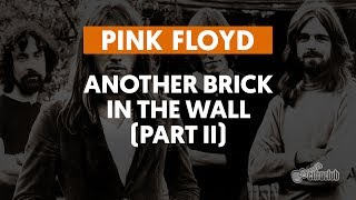 Another Brick In the Wall (Parte II) - Pink Floyd (aula de guitarra)