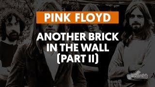 another brick in the wall parte ii pink floyd aula de guitarra
