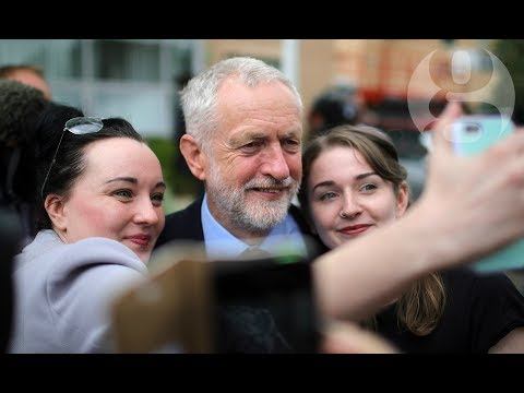 The Corbyn factor: on the campaign trail with Labour's leader | General election 2017