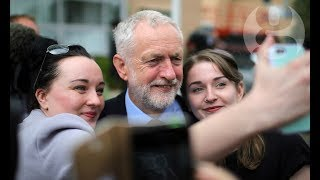 The Corbyn factor: on the campaign trail with Labour's leader | General election 2017 thumbnail
