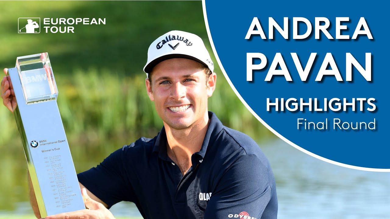 Andrea Pavan Highlights Round 4 2019 Bmw International Open