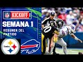 Defensa de STEELERS frena a BUFFALO    Semana 1 2021 NFL Game Highlights