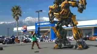 Bumble bee hits back (al's chevrolet) - super bowl xlv ad