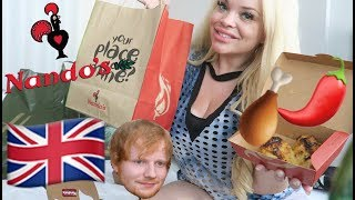 NANDO'S CHICKEN EATING SHOW (U.K. MUKBANG) | LET'S EAT