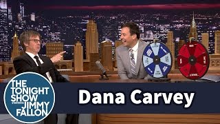 Dana Carvey Plays Wheel Of Impressions -- Part 1