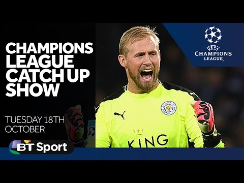 Champions League Catch Up Show | Goals and highlights | Leicester, Spurs, Real Madrid