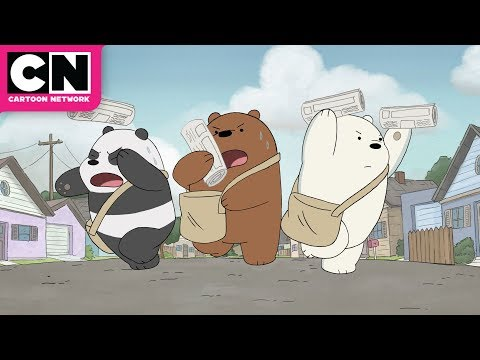 We Bare Bears | The Ultimate Paper Route!  | Cartoon Network