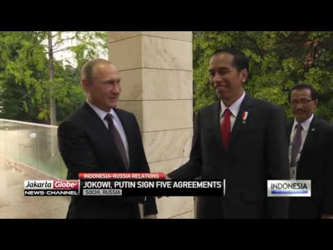 Indonesia, Russia Sign 5 MOU To Strengthen Bilateral Ties