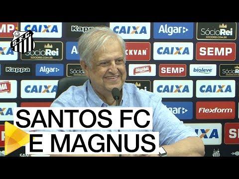 COLETIVA | Santos FC e Magnus