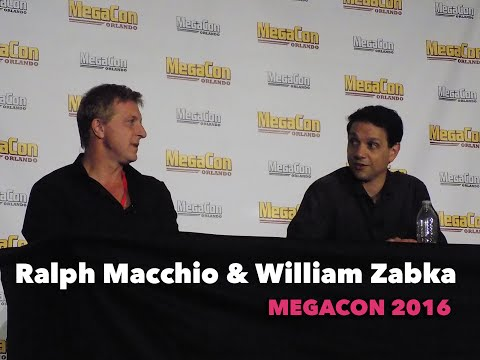 """The Karate Kid"" Panel - Ralph Macchio and William Zabka - MegaCon 2016"