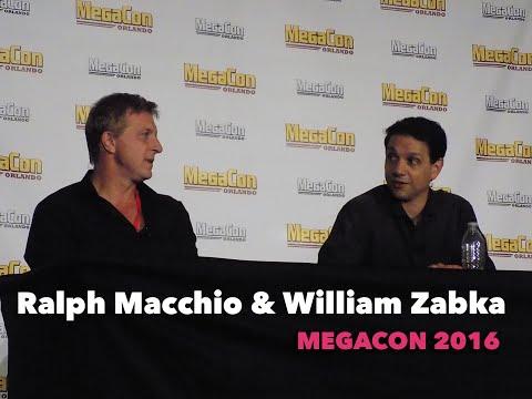 """The Karate Kid"" Panel - Ralph Macchio and William Zabka - MegaCon 2016"