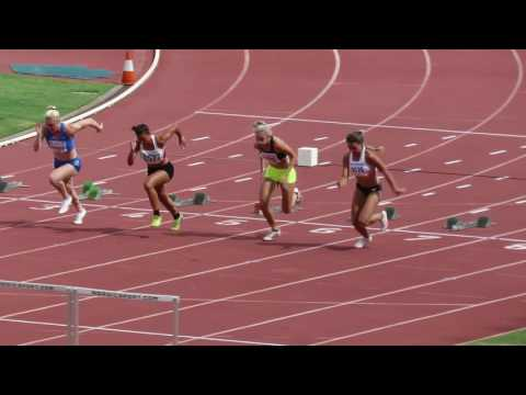 100mH Sally Pearson 13.57 -0.9 Queensland Athletic Championships 2017