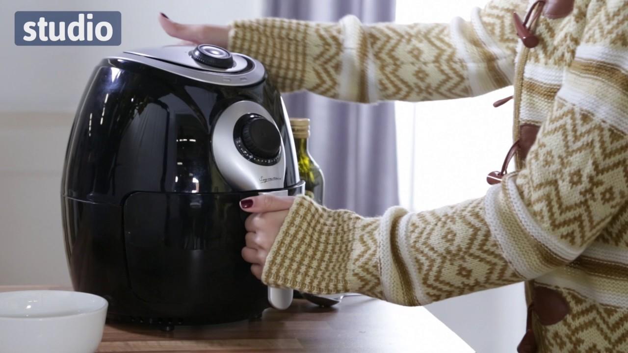 Studio Signature Manual Air Fryer Youtube
