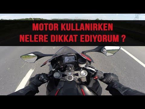 Motor kullanırken nelere DİKKAT edilmeli ?