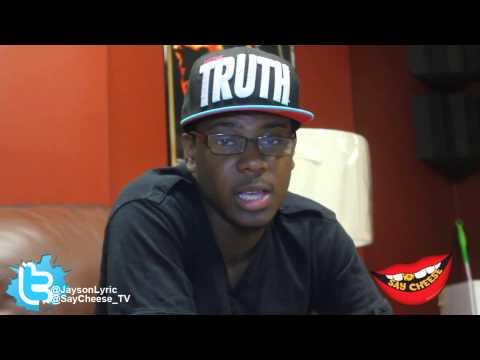 Jayson Lyric spits painful freestyle on Say Cheese TV