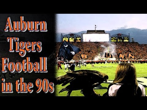 Auburn Tigers Football in the 90s
