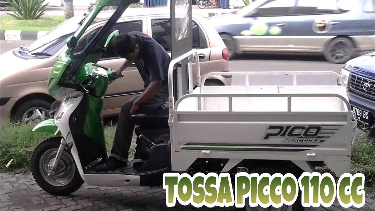 Motor Roda Tiga Tossa Picco 110 Cc