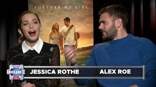 Forever My Girl (2018) Interview With Alex Roe & Jessica Rothe | Huckabee